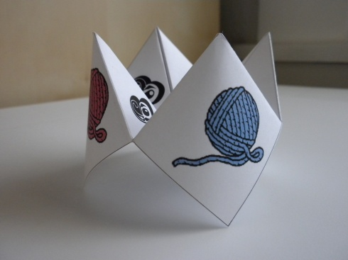 cootie catcher photo