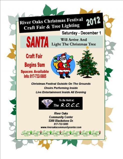 Christmas Festival Flyer 2012