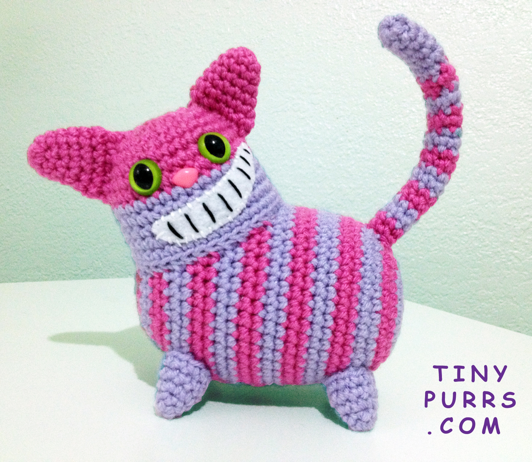 Cheshire Cat Amigurumi : amigurumi Tiny Purrs